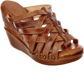 Bed Stu Josie Leather Wedge Sandal