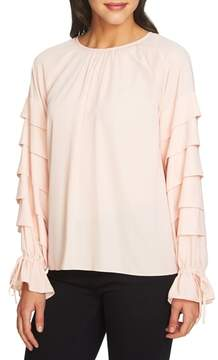 1 STATE 1.STATE Tiered Sleeve Top