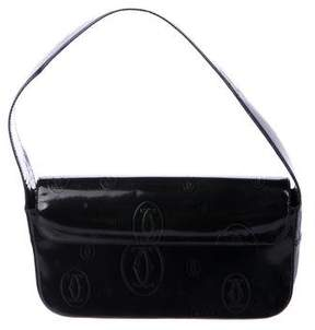 Cartier Embossed Patent Leather Bag