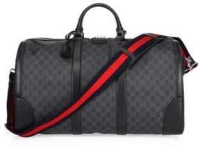 Black Large GG Duffle Bag