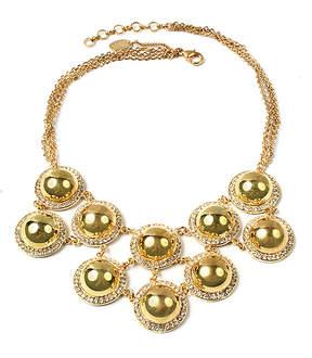 Amrita Singh Goldtone Vanessa Bib Necklace