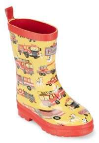 Hatley Baby's, Toddler's & Kid's Fire Trucks Vulcanized Rubber Rain Boots