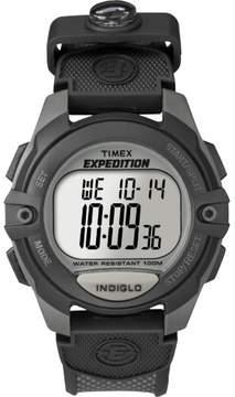 Timex Men's Expedition Digital CAT Watch, Black Resin Strap