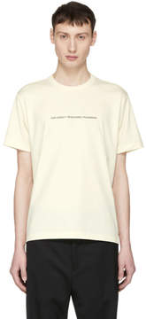 Our Legacy Beige Box T-Shirt