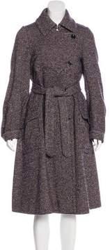 Dries Van Noten Wool Long Coat