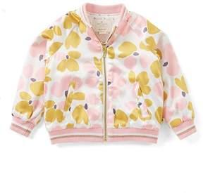 Kate Spade Little Girls 2-6 Floral-Print Bomber Jacket