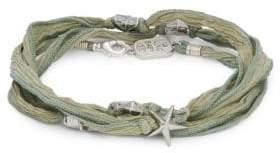 King Baby Studio Star Beaded Wrap Bracelet