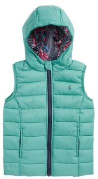 Joules Toddler Girl's Printed Packaway Vest