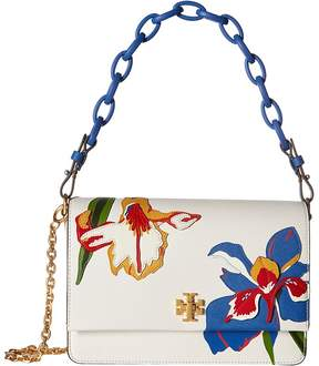 Tory Burch Kira Applique Shoulder Bag Handbags - PAINTED IRIS - STYLE