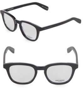 Saint Laurent 49MM Cat Eye Optical Glasses