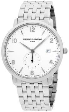 Frederique Constant Slimline FC245SA5S6B Stainless Steel & White Dial 38mm Mens Watch
