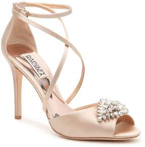 Badgley Mischka Tatum Sandal -Ivory - Women's