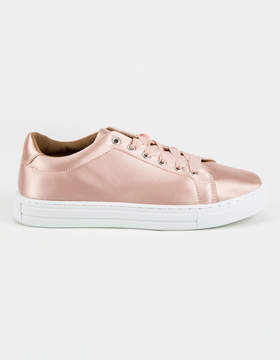 Qupid Satin Ribbon Womens Shoes