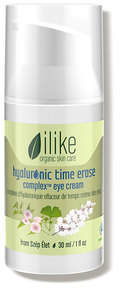 Ilike Organic Skin Care Hyaluronic Time Erase Complex Eye Cream