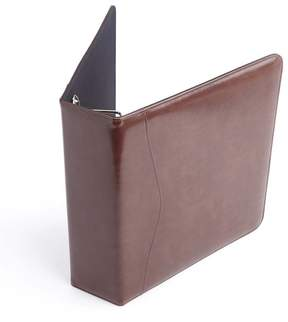 Royce Leather Royce Tan Executive One and a Half Inch Ring Binder