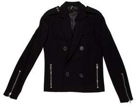 Christian Dior 2007 Double-Breasted Wool Jacket