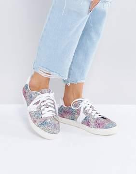 Asos DANCING QUEEN Glitter Sneakers