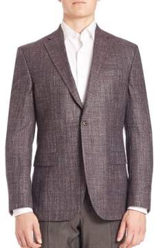 Saks Fifth Avenue COLLECTION Bamboo Textured Sportcoat
