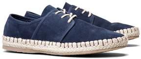 SeaVees Navy Sorrento Sand Suede Sneaker - Men