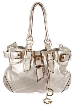 Dolce & Gabbana Metallic Handle Bag - GOLD - STYLE
