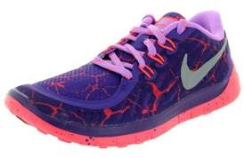 Nike Free 5.0 Lava (gs) Running Shoe.