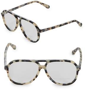Stella McCartney Women's 55MM Aviator Optical Glasses