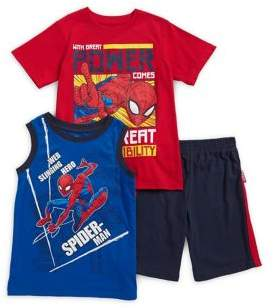 Marvel Little Boy's Spiderman Three-Piece Set