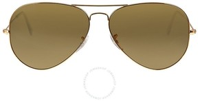 Ray-Ban Classic Aviator Sunglasses - Polarized Brown B-15