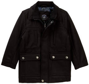 Urban Republic Mix Media Military Jacket (Toddler Boys)