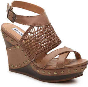 Not Rated Women's Caligraphy Wedge Sandal