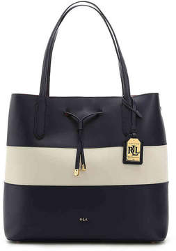 Lauren Ralph Lauren Women's Dryden Diana Leather Tote