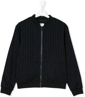DKNY striped bomber jacket