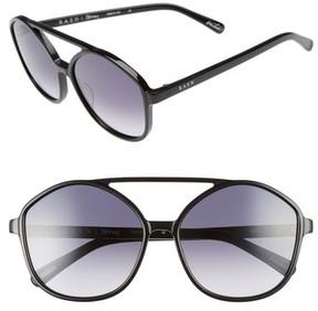Raen Women's Torrey 58Mm Aviator Sunglasses - Black