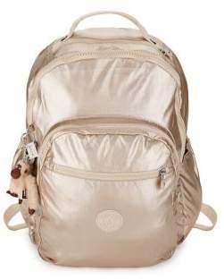 Kipling Metallic Backpack - PEWTER - STYLE