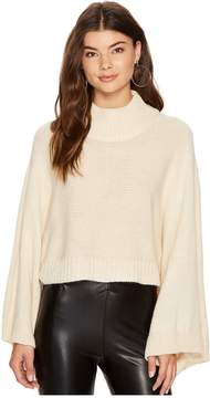 Bishop + Young Olivia Crop Sweater Women's Sweater