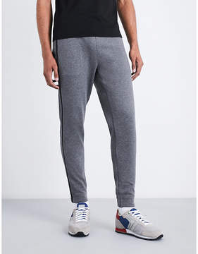 BOSS GREEN Relaxed-fit cotton-blend jogging bottoms