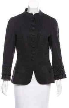 Andrew Gn Wool Three-Quarter Sleeve Jacket