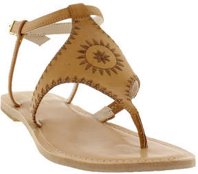 Nicole Miller Women's Pyramid Thong Sandal