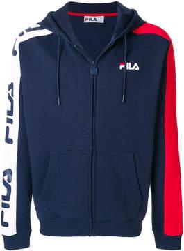 Fila zip front hoodie
