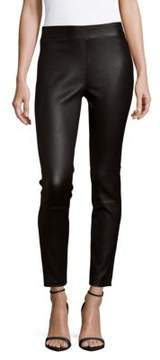 Saks Fifth Avenue BLACK Leather Pants