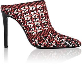 Altuzarra Women's Davidson Woven Leather Mules