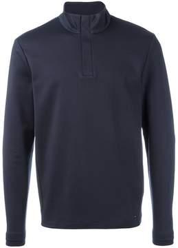 HUGO BOSS henley sweatshirt