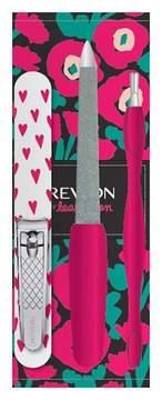 Revlon Love by Leah Goren Manicure Essentials Kit- 4 Pieces Plus Case