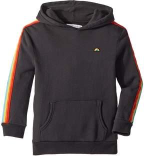 Spiritual Gangster Kids Rainbow Pullover Hoodie Girl's Sweatshirt