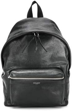 Saint Laurent mini City backpack - BLACK - STYLE