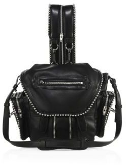 Alexander Wang Mini Marti Ball Leather Backpack