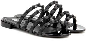 Balenciaga Arena patent leather sandals
