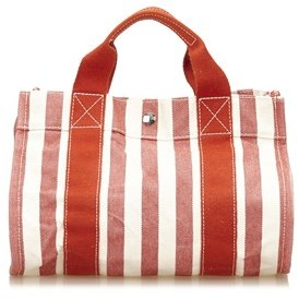 Hermes Pre-owned: Cannes Pm. - RED X WHITE - STYLE