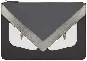 Fendi Bag Bugs-appliqué clutch