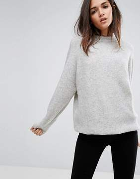 Dr. Denim Longline High Neck Knitwear